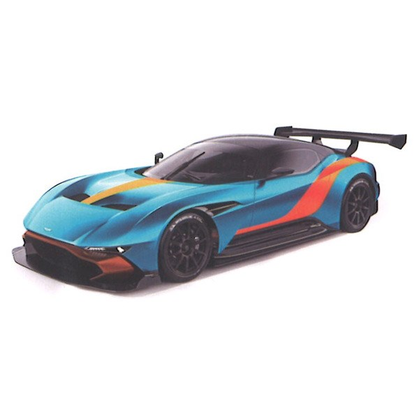 Truescale Miniatures Aston Martin Vulcan Blue Orange 1 43