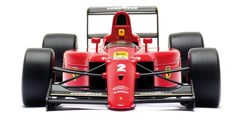 Look Smart 1:18 1990 Ferrari 641 diecast model car review