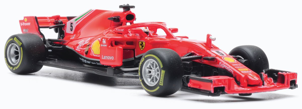 1:43 2018 Ferrari SF71H model from Burago