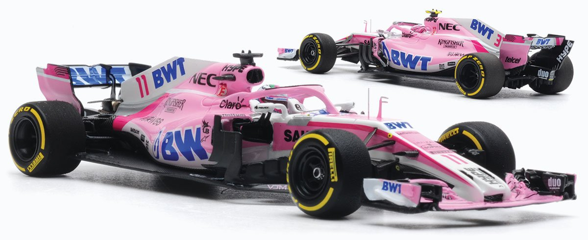 1:43 2018 Force India VJM11 model from Minichamps