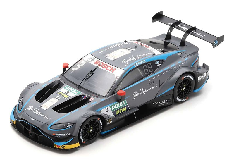Spark 1:18 and 1:43 2019 Aston Martin Vantage DTM diecast model car review