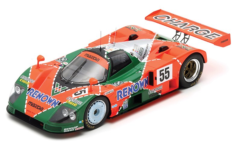 Spark 1:18 1991 Le Mans Mazda 787B diecast model car review