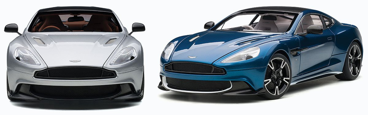AUTOart 1:18 2017 Aston Martin Vanquish S Diecast Model Car Review