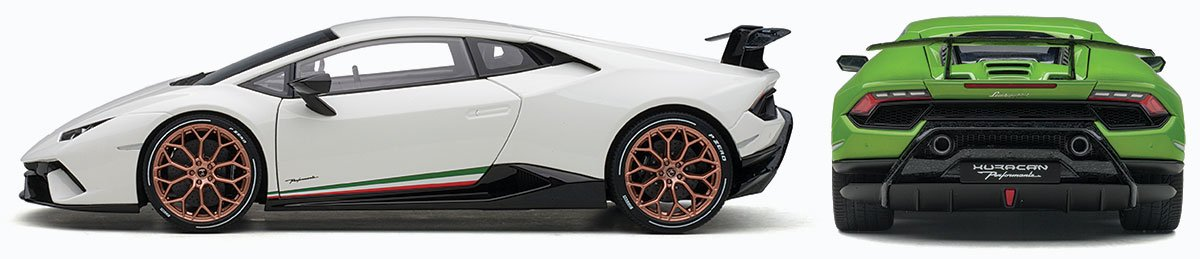 AUTOart 1:18 2017 Lamborghini Huracan Performante Diecast Model Car Review