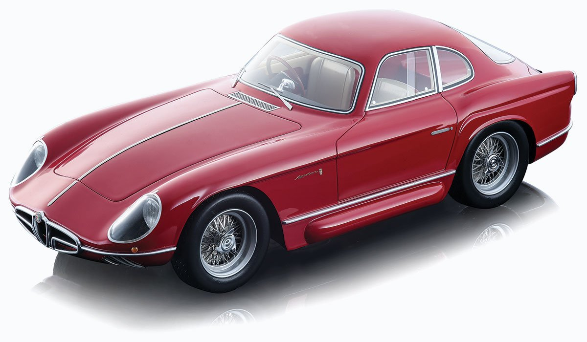 Tecnomodel 1:18 1954 Alfa Romeo Sportiva Bertone Diecast Model Car Review