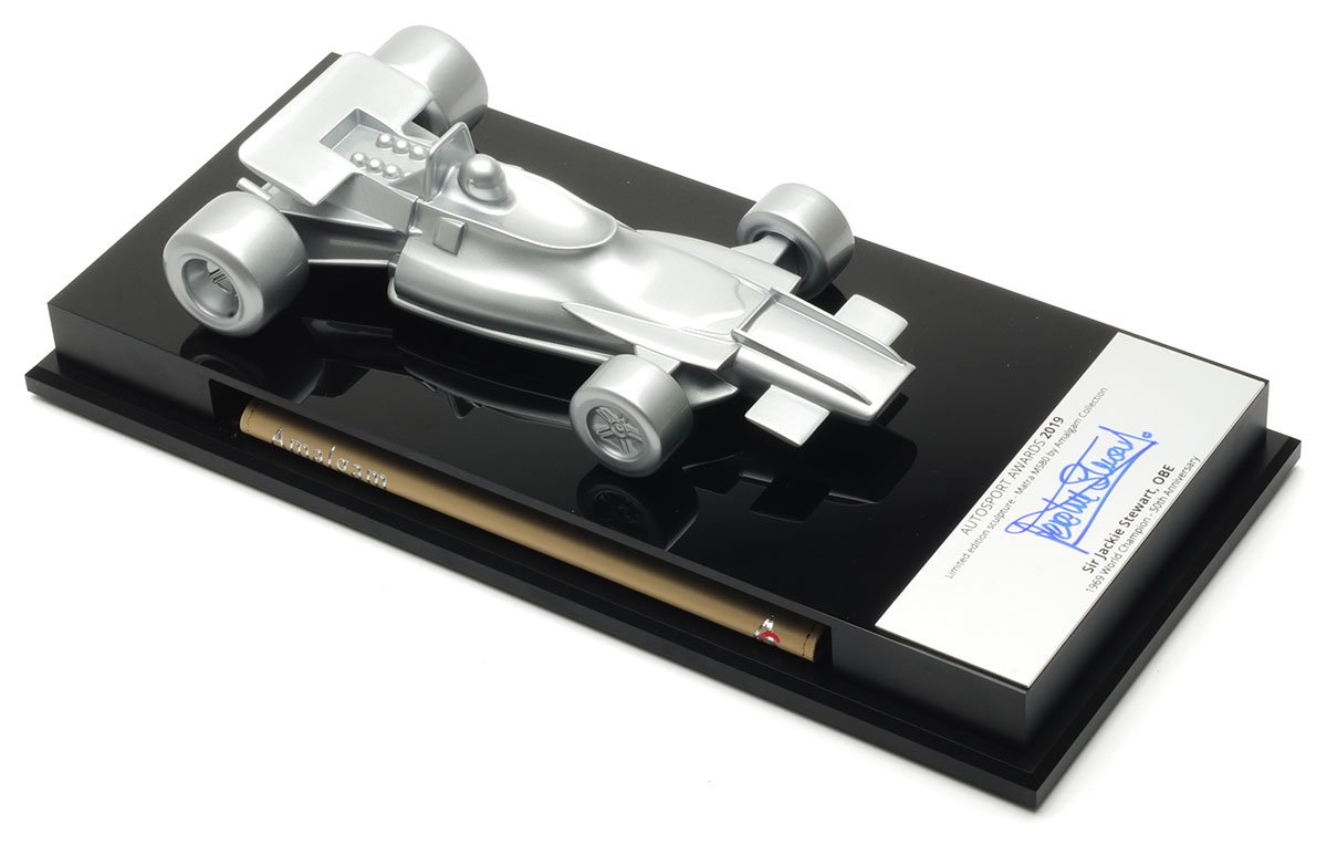 Amalgam Autosport Awards table centre Pewter Model Car Review