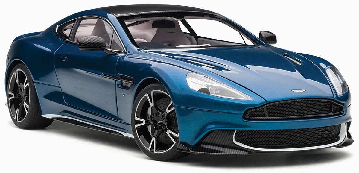 Aston Martin Vanquish S model from AUTOart