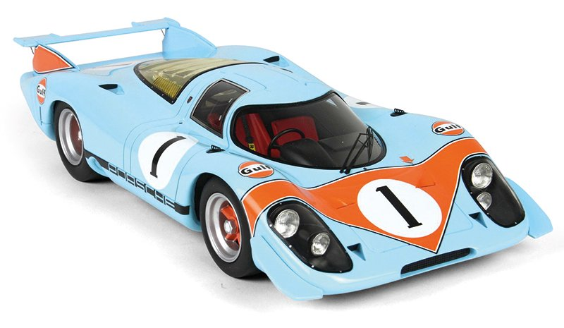 BBR 1:18 1969 Porsche 917 show car diecast model car review