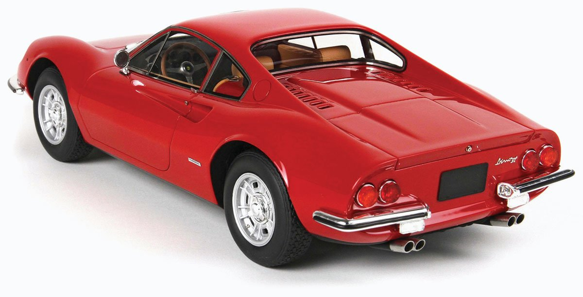 BBR 1:18 1969 Ferrari Dino 246 GT Diecast Model Car Review