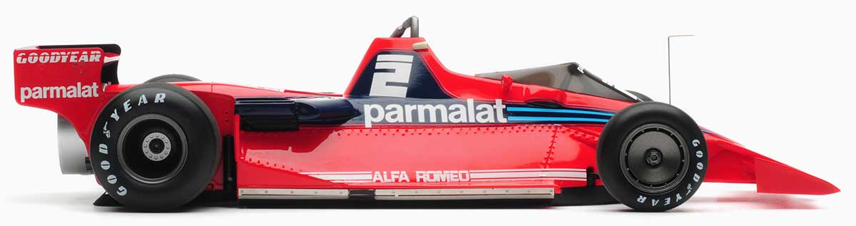 1:18 Lauda and Watson 1978 Brabham BT46B fan cars. Sweden
