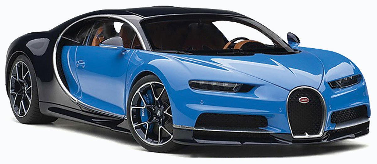 1 18 2017 Bugatti Chiron Diecast Model Car Review