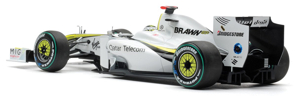Button 2009 Brawn BGP001