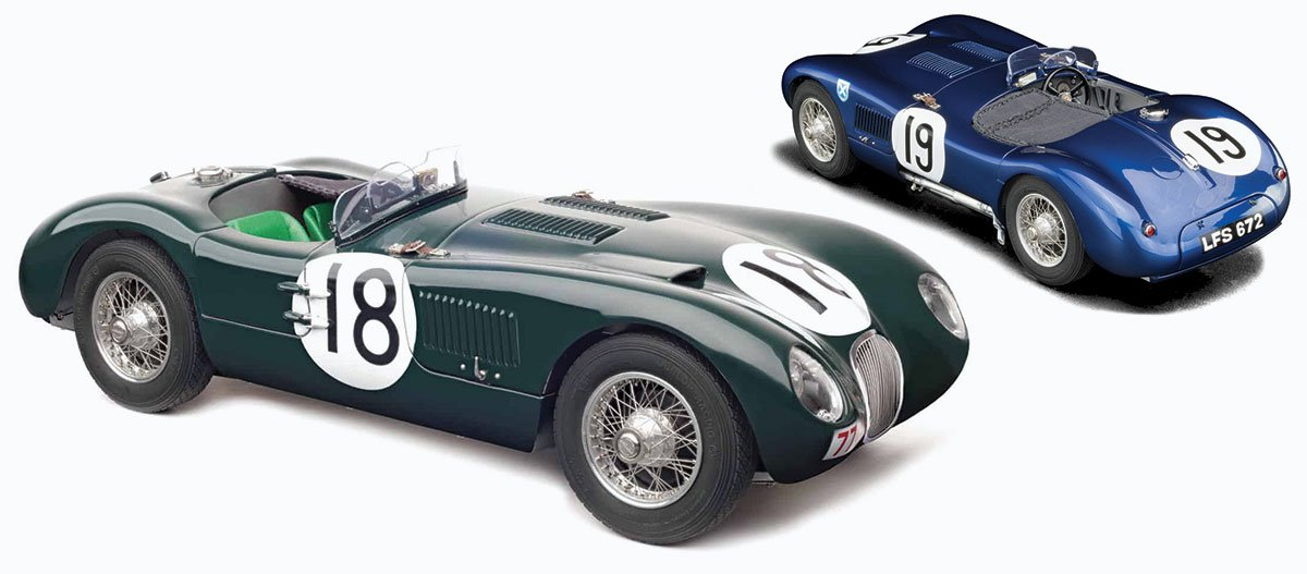 CMC 1:18 Jaguar C-Type Diecast Model Car Review