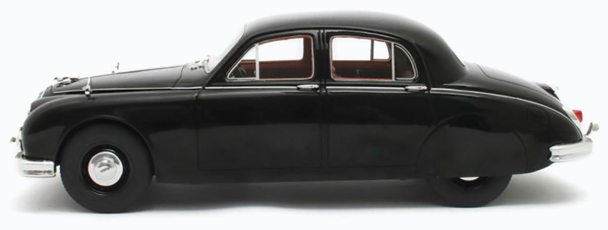 Cult 1955 Jaguar 2.4 Mk1 Diecast Model Car Review