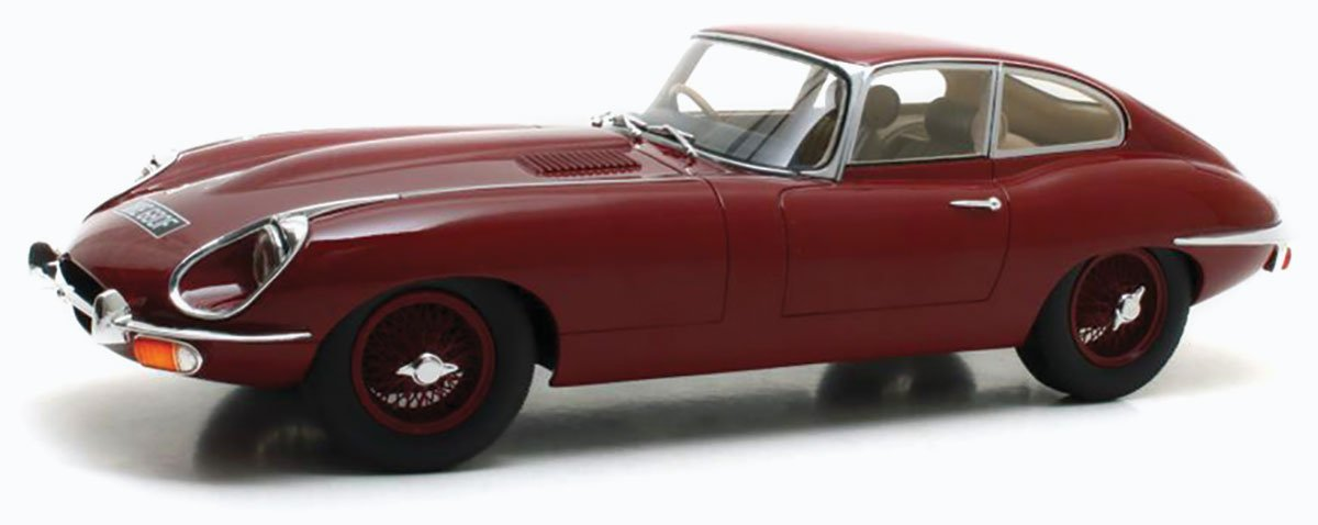 Cult 1968 Jaguar E-Type Series II Diecast Model Car Review