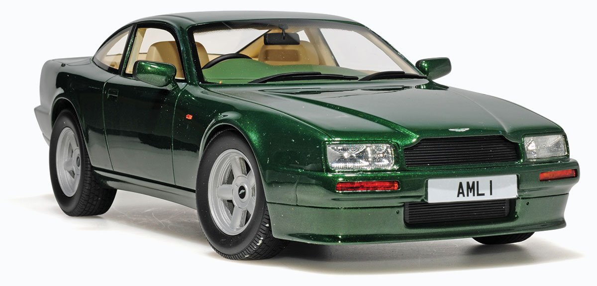 Cult 1988 Aston Martin Virage Diecast Model Car Review