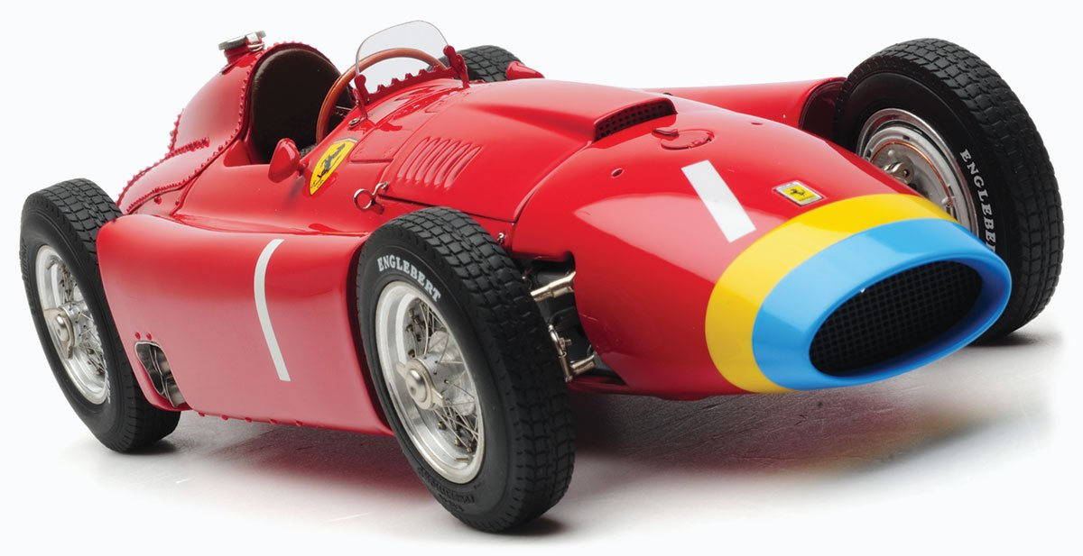 Fangio and Collins 1956 Ferrari D50 model from CMC