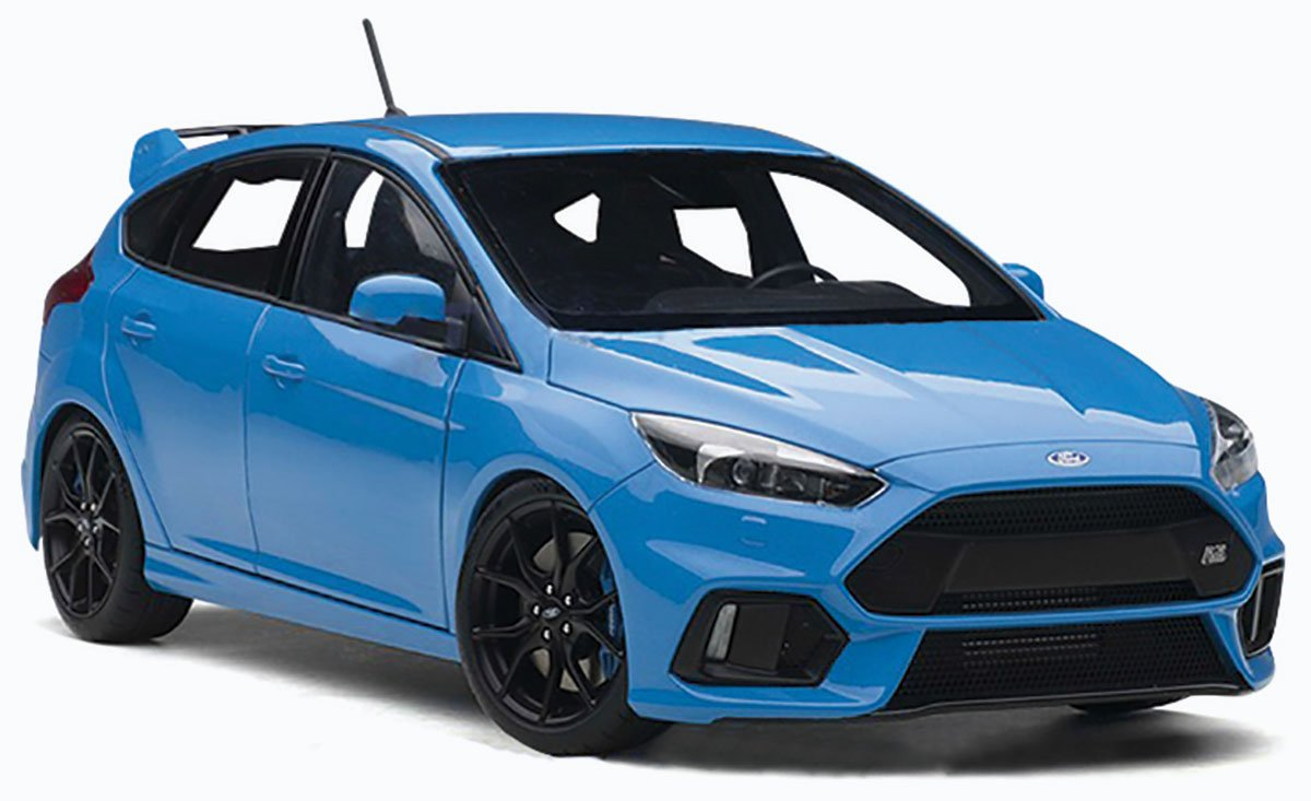 1:18 2016 Ford Focus RS Diecast Model Car Review