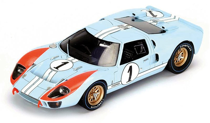 1:18 1966 Le Mans Ford GT40 diecast model car review