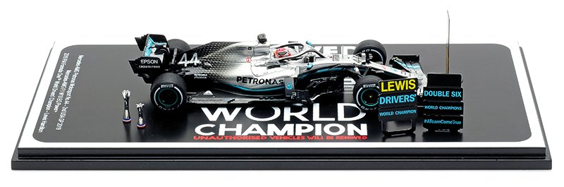 Spark 1:43 Hamilton 2019 American GP Mercedes diecast model car review