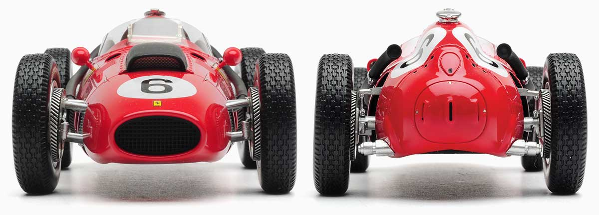1:18 Hawthorn 1958 Ferrari 246. Morocco model from Diecast Legends