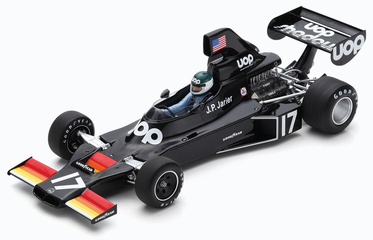 1:18 Jarier 1975 Shadow DN5. Brazil model from Spark