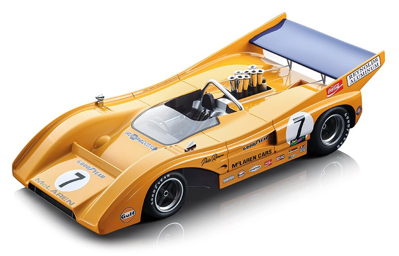 Tecnomodel 1:18 1970s Can-Am McLaren M8Fs diecast model car review