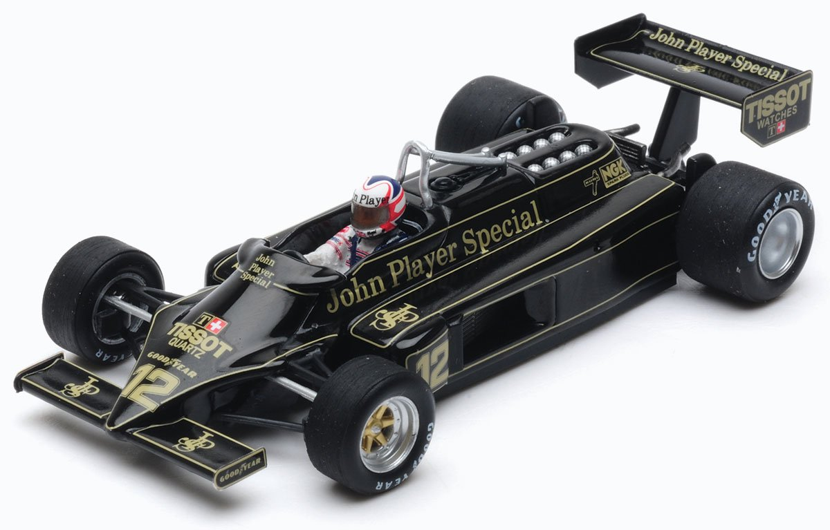 1:43 Mansell 1981 Lotus 87 model from Spark