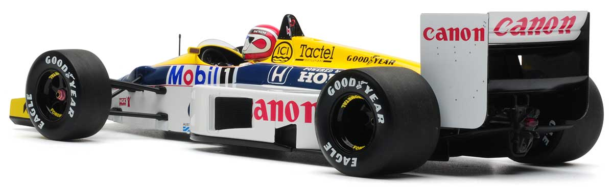 1:18 Mansell 1986 Williams FW11