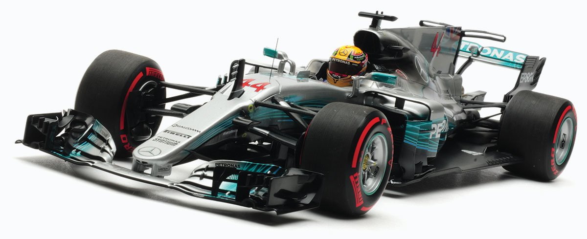 Minichamps 1:18 Hamilton 2017 Mexican GP Mercedes W08 Diecast Model Car Review