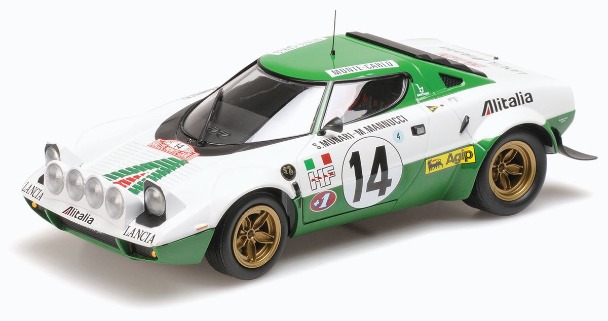 Minichamps Lancia Stratos Diecast Model Car Review