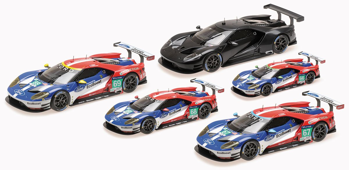 Minichamps 1:18 2016 Ford GT Le Mans Diecast Model Car Review