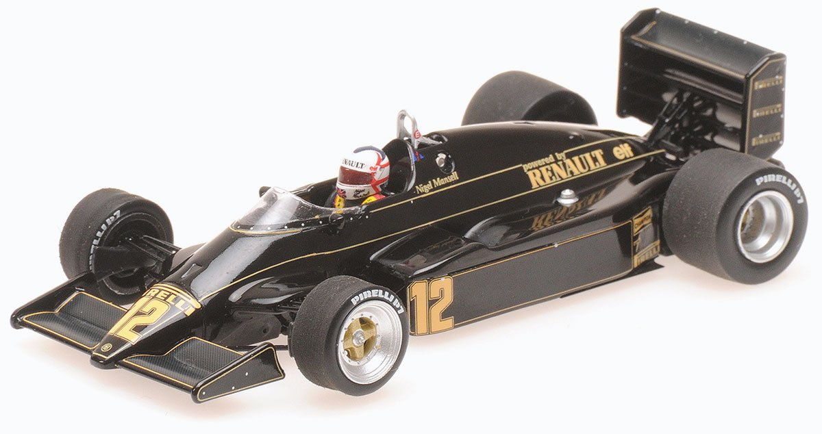 Minichamps 1:18 Mansell 1983 Lotus 94T Diecast Model Car Review