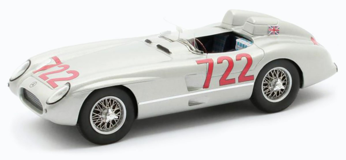 Matrix 1:43 Stirling Moss 1955 Mille Miglia Mercedes 300 SLR Diecast Model Car Review