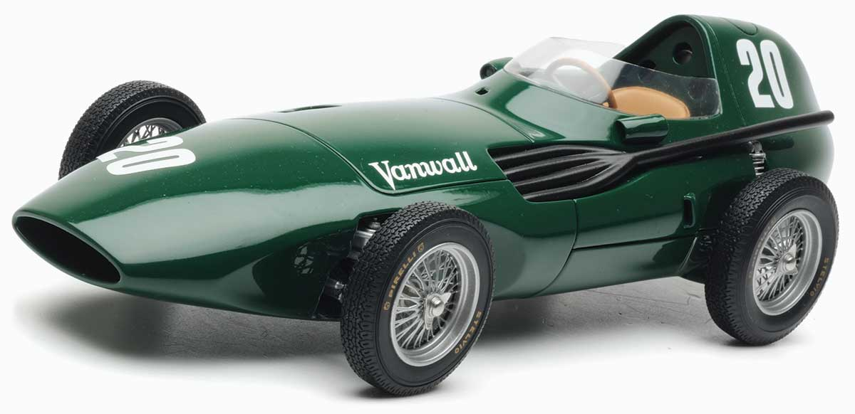 Moss and Brooks 1957 Vanwall Britain model from SMTS