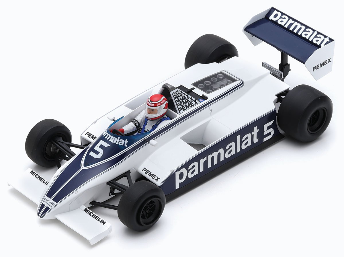 Spark 1:18 Nelson Piquet 1981 Brabham BT49 Diecast Model Car Review