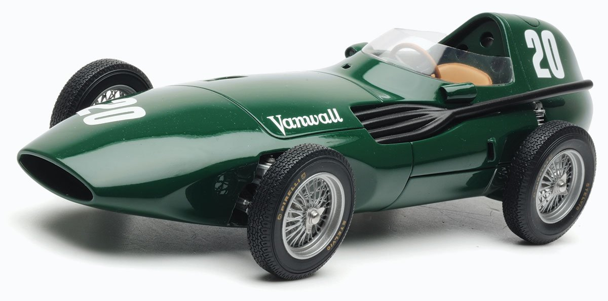 SMTS 1:18 Moss and Brooks 1957 Vanwall Britain Diecast Model Car Review