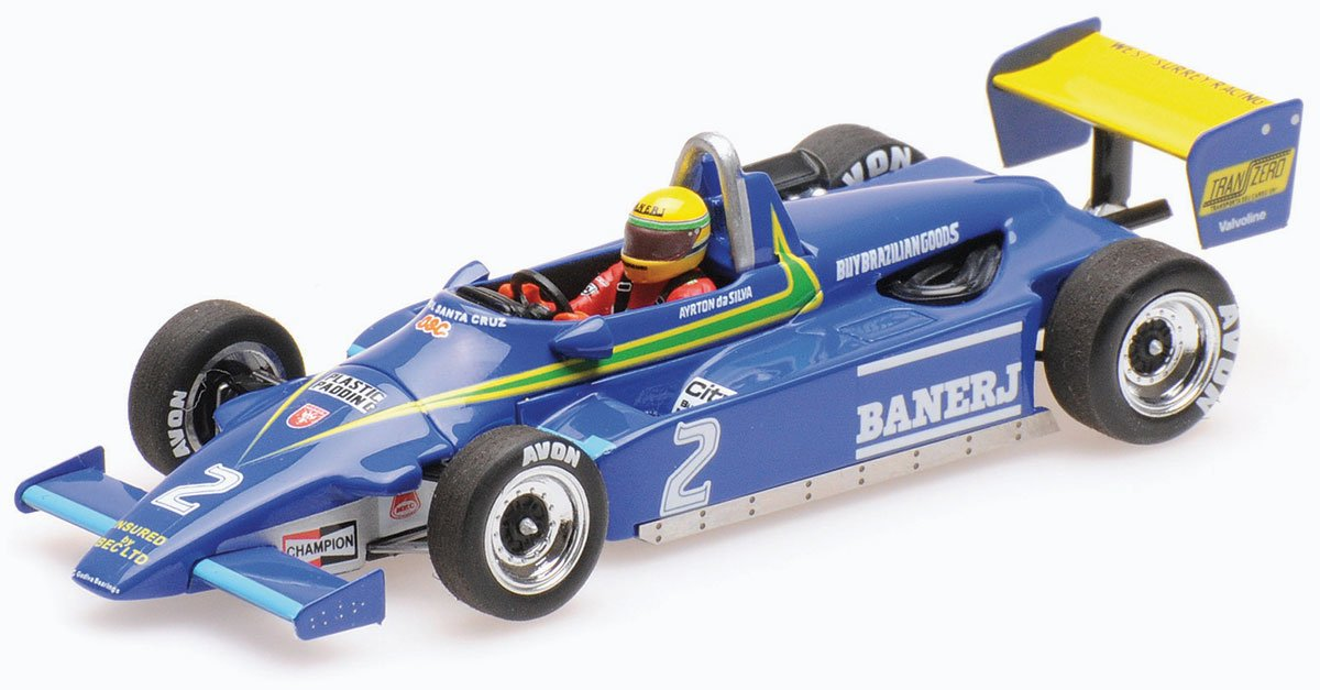 1:43 Senna 1982 Ralt RT3 model from Minichamps