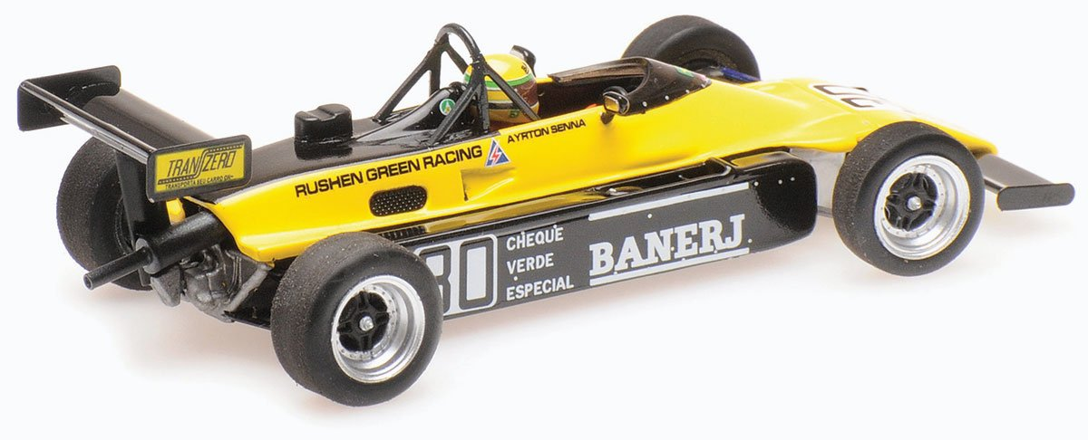 Minichamps 1:43 Senna 1982 Van Dieman FF2000 Diecast Model Car Review