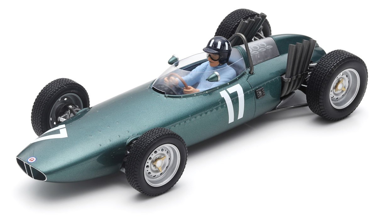 Spark 1:18 Hill 1962 BRM P57 Dutch GP Diecast Model Car Review