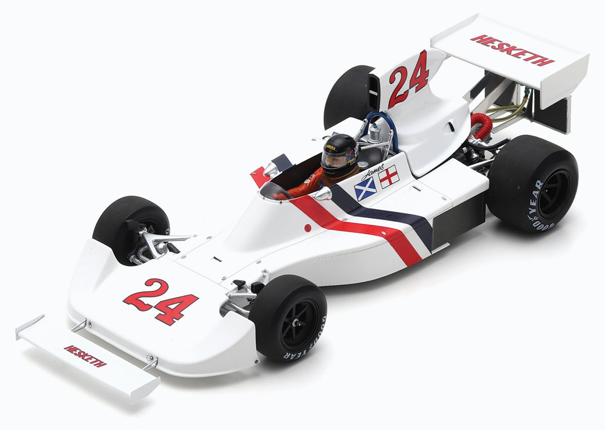Spark 1:18 Hunt 1975 Hesketh 308. Dutch GP Diecast Model Car Review
