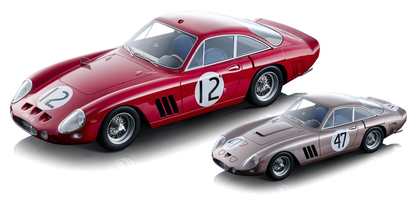 Tecnomodel 1:18 1963 Ferrari 330 diecast model car review