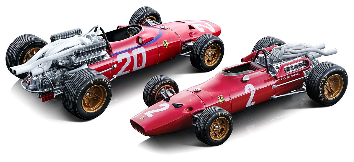 Tecnomodel 1:18 1967 Ferrari 312 F1 Diecast Model Car Review