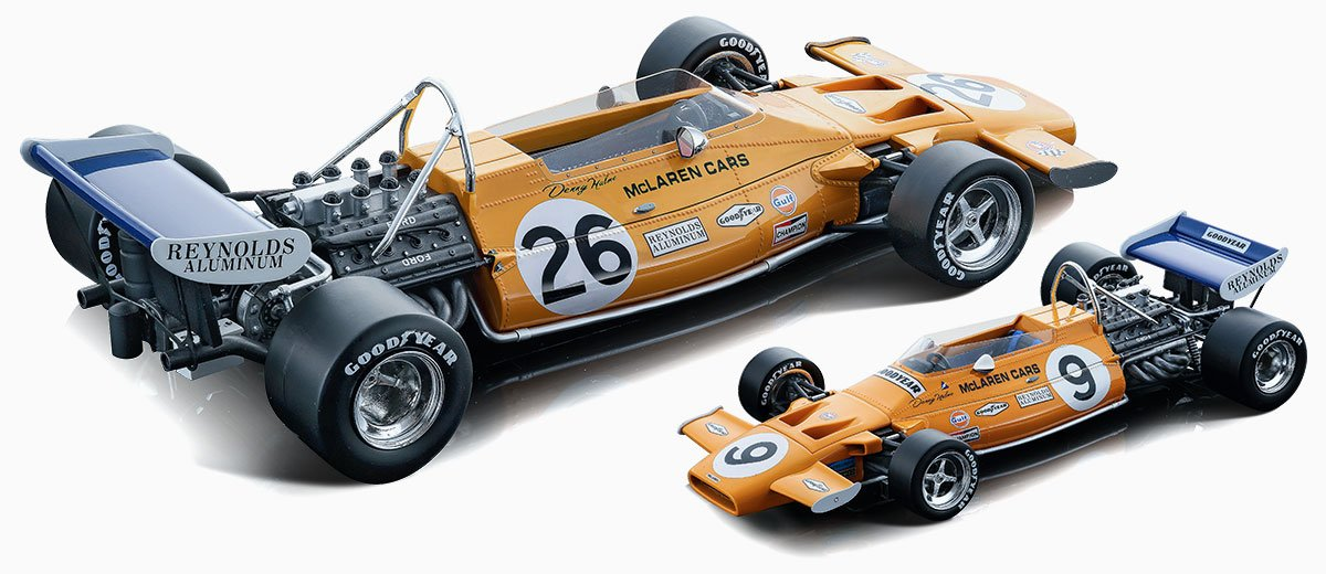 Tecnomodel 1971 McLaren M19A Diecast Model Car Review
