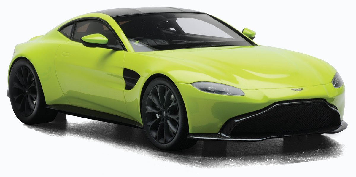 Topspeed 1 18 Aston Martin Vantage Diecast Model Car Review