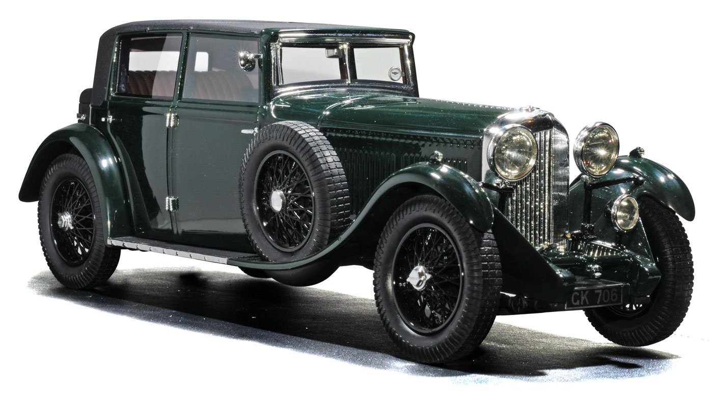 TrueScale 1:18 1930 Bentley 8 litre diecast model car review